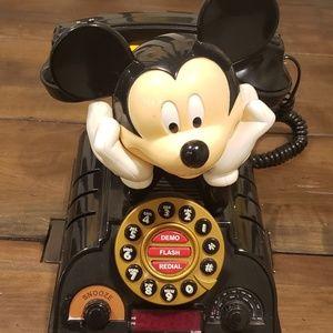 Mickey Mouse Alarm Clock Phone